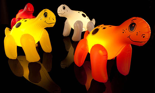 Inflatable Dinosaur Lamps